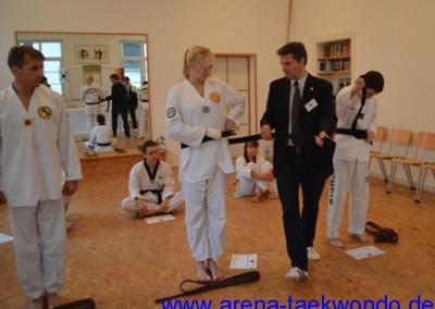 Dan-Prüfung 2012 Annehmen des Meistergrades
