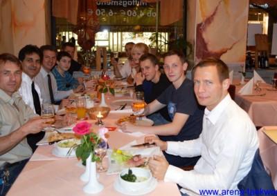 Dan-Prüfungsfeier 2012 Restaurant La Perla