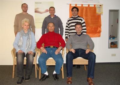 Danhak-Lehrer-Prüfung 2012 mit Großmeister Lee Bum