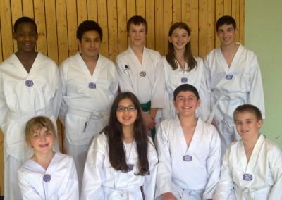 Taekwondo Mudo-Schule Ricklingen MLK 2011
