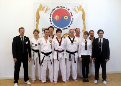 Dan-Prüfung 2013 Gruppenfoto