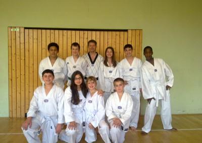 Taekwondo Mudo-Schule Ricklingen MLK II 2011