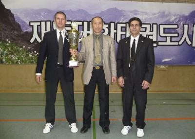 v.l. Meister Sven, Meister Lee, Meister Amin