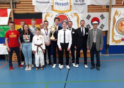DKK Pokal 2019 Und Großmeister Lee Bum I 9. Dan